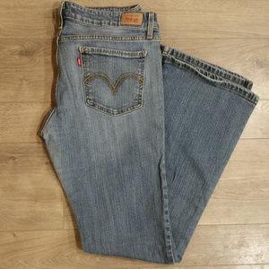 Levi's 518 Super Low Jeans